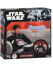 SNUGGIE Disney STAR WARS DARTH VADER SUPER SOFT FOR KIDS BLANKET NEW