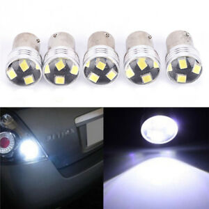 1156 P21W 6 LED 2835 SMD Car Light Backup Reverse Parking Lamp Bulb DC12V   ji