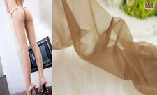 coffee color Women Shiny Glossy Pantyhose Tights 2D Without Cotton Pad CA 02