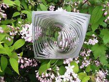 Edles Windspiel Quadrat zu Kreis aus Edelstahl - f. Innen u. aussen - Neu