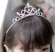 Wedding Prom Party Flower Girl Dress Up Tiara Girl Hairband Gift UK