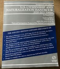 U.S. Citizenship and Naturalization Handbook 2020-2021 Edition Thomson Reuters