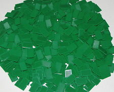 LEGO LOT OF 500 NEW GREEN 1 X 2 X 3 WINDOWS SHUTTERS PIECES