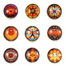 Noosa Style Chunks Snap Button Charms Chunk Charm Snaps Cultural Symbols 18mm 8