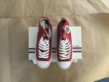 PF Flyers Center Hi Red Men 9 Women 10.5 new with box NEVER WORN