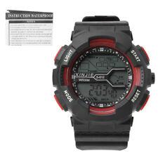 Fashion Mens Digital LED Analog Quartz Alarm Date Sports Wrist Watch