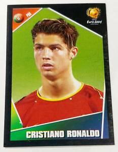 Cristiano Ronaldo CR7 rookie sticker Panini Euro 2004 Portugal - RARE