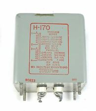 Utc H-170 Tf4S04Gb Filter Inductor Transformer 10V 60Hz Mil-T-27D Specs