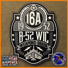 B-52 Weapons School WIC Class 16A PVC Patch 20th 23rd 69th 96th Bomb Squadrons