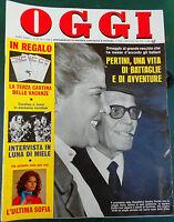 OGGI 29/1978 PERTINI CAROLINE JUNOT LOREN DORELLI BUAZZELLI PAVONE CABRINI NUDO