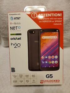 Brand NEW BLU G5 4G LTE 32GB Black Unlocked Smartphone