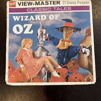 Vintage 1957 The Wizard Of Oz View Master Reels Packet Complete with Booklet