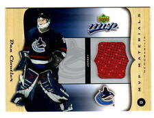 NHL Trading Cards---Jersey Card--Dan Cloutier---Vancouver Canucks