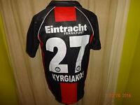 "Eintracht Frankfurt Jako Trikot 2006/07 ""FRAPORT"" + Nr.27 Kyrgiakos Gr.S- M TOP"