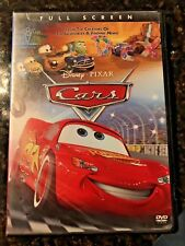 Disney Pixar Cars Full Screen DVD w/ Slipcover and Case Fast Free Shipping