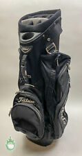New listing Used Titleist Golf Club Cart/Carry Bag 14-Way Divided 8 Pockets Black