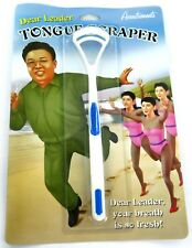 Dear Leader Tongue Scraper Funny Gift Novelty Accoutrements Bizarre
