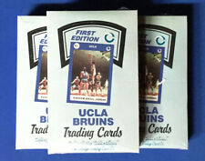 """(3) 1990 COLLEGIATE COLLECTION UCLA BRUINS """"ALL-TIME GREATS"""" SEALED BOXES"""