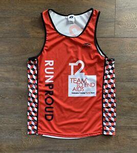 VTG Triathlon Sleeveless Jersey Tank Running Shirt Cycling Size Medium VOLER USA
