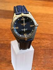 BREITLING Men's Watch, AEROSPACE Model E56059, BLUE, Multi-Function, 40mm