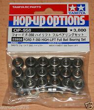 Tamiya 53958 Ford F-350 Cojinete de bolas de gran elevación Completo Conjunto (Hilux/Tundra), nuevo en paquete
