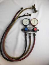 = Vintage AC Manifold Gauge Imperial Eastman System Analyzer 2500 PSI USA