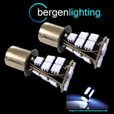 382 1156 BA15S 245 207 P21W Xenon Bianco 21 SMD LED posteriore nebbia LAMPADINE rf201701