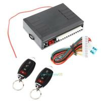 Universal Car Auto Burglar Alarm Central Door Lock Keyless Entry Security System