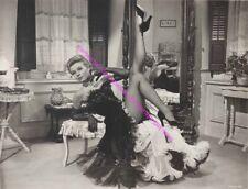 ACTRESS/DANCER VERA-ELLEN ON HER BACK LEGS IN THE AIR UPSKIRT LEGGY PHOTO A-VE5