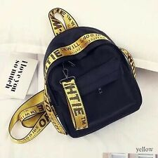 Off White Backpack Unisex Color Belt Bag Young and Trendy Casual Crossbody