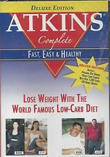 ATKINS Drug free proven healthy approach to WEIGHT LOSS Low-Carb Diet  NEW DVD