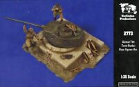 Verlinden 1:35 German T34 Turret Bunker Resin Bases-Figures-Accessory #2773