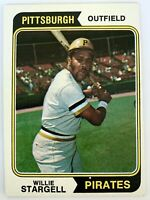 1974 TOPPS Willie Stargell #100 - Pittsburgh Pirates