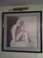 Custom Pencil Portrait Drawing,Commission Pencil Portrait by dwayne mackey