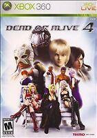 Dead or Alive 4 Xbox 360  IV Tecmo Martial Arts