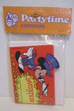 VINTAGE DISNEY MICKEY MOUSE BIRTHDAY PARTY INVITATIONS RANDIM MARKETING CANADA