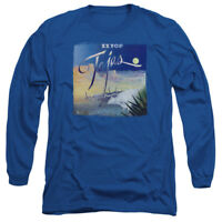ZZ TOP TEJAS Licensed Adult Men's Long Sleeve Graphic Band Tee Shirt SM-3XL