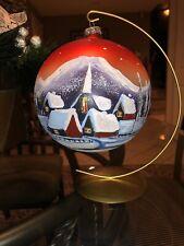 Handmade Christmas Ornament Display