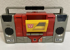 Vintage Transformers Autobot Blaster G1 Hasbro 1984 Boombox Hasbro Takara Read