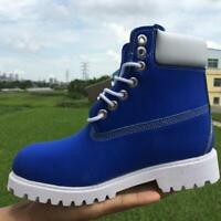 Hot Mens Casual Shoes Waterproof Classic Work Lace Up Ankle Boots US 5-12