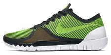 Nike Free 3.0 V4 Men's Running Shoes, Size 9 - Green/Black