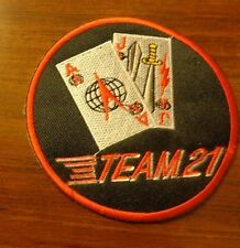 U.S.A.F. PATCH, 21ST SPACE WING