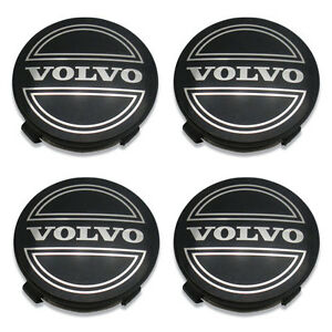 92-15 Volvo V40 S40 ONLY 30638643A Wheel Center Cap Hubcap Set of 4