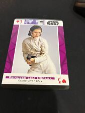 LADIES OF STAR WARS PLAYING CARDS CARRIE FISHER POKER BLACKJACK NEW