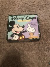 Disney Days Collectible Calendar-1995-all pages in tact; original box