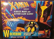 1994 Toy Biz X-Men WOLVERINE Marvel Kid Size Mask Action Claw Glove 04981 SEALED