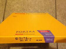 1x BOX OF KODAK Portra 8x10 160NC color negative film 810 160 NC 10 Sheet 2010