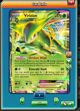 RA Virizion-EX Regular Art Pokemon TCG ONLINE ( PTCGO digital card )