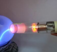 "Vintage SPECTRAL TUBE LAMP ""Pb"" with NEON nixie filament for science or DIY. NOS"