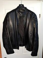 Hugo Boss Mercedes leather jacket size 56 NARVEYN  MERCEDES PETRONAS F1 RARE !!